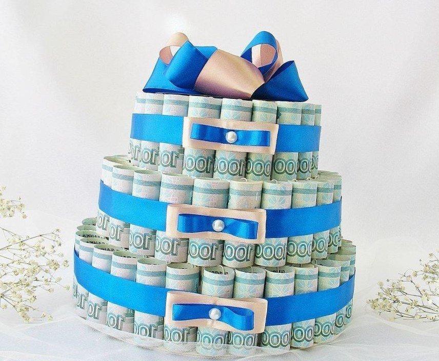 Идеи оформления свадебного подарка в виде денег 78