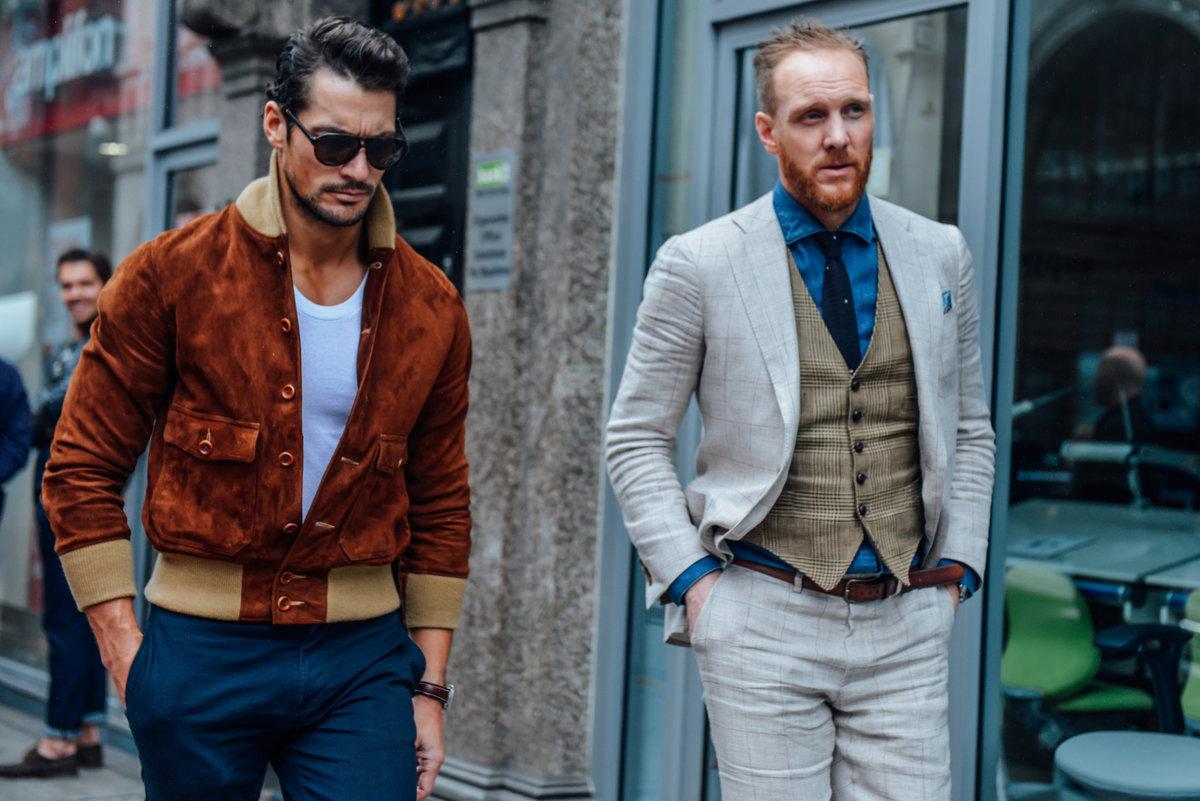 Модный комплект одежды 2018 мужчины