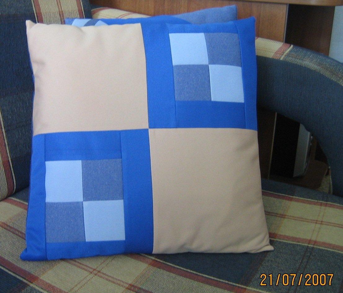 Подушка из квадратов сшить 32