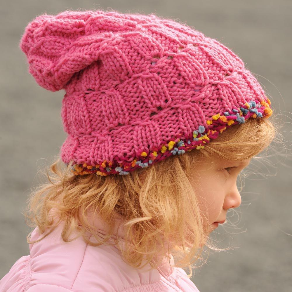 Вязание для маленьких шапочки 37