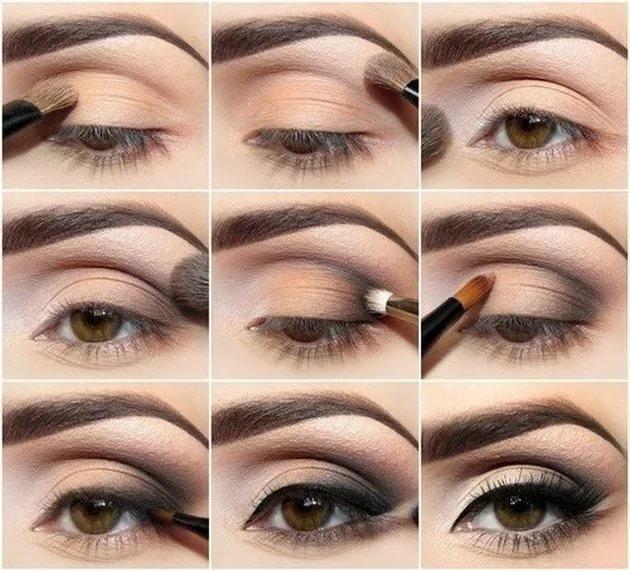 Красивый макияж глаз домашних условиях
