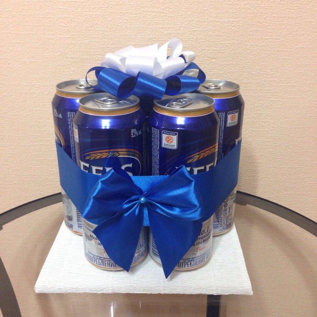 Подарок на 23 февраля из пива: что можно сделать