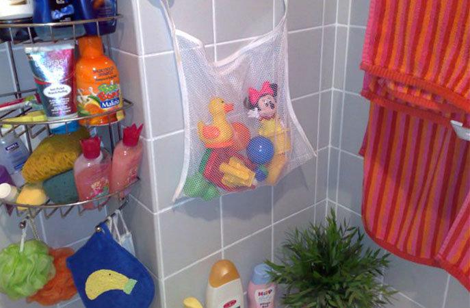 Для игрушек в ванную своими руками 484