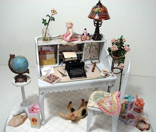 Мебель для миниатюры своими руками 59