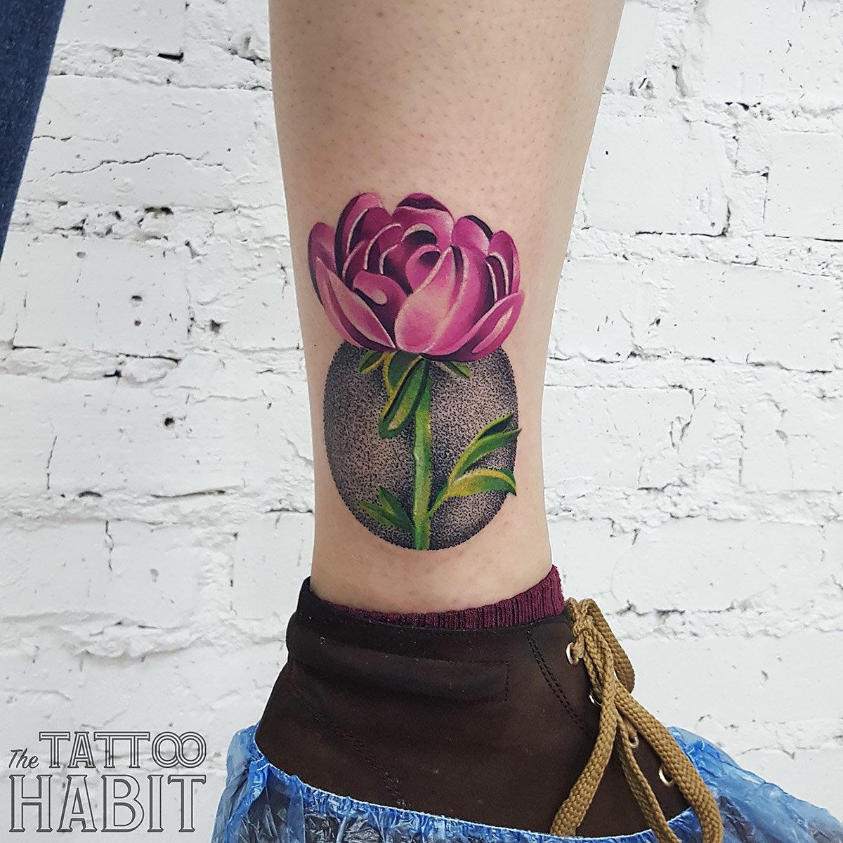 Татуировки для девушек на икрах фото