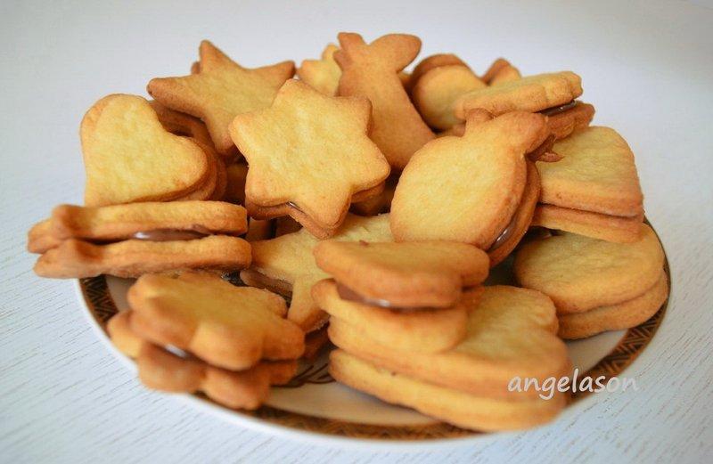 Песочное печенье с одним яйцом рецепт с пошагово