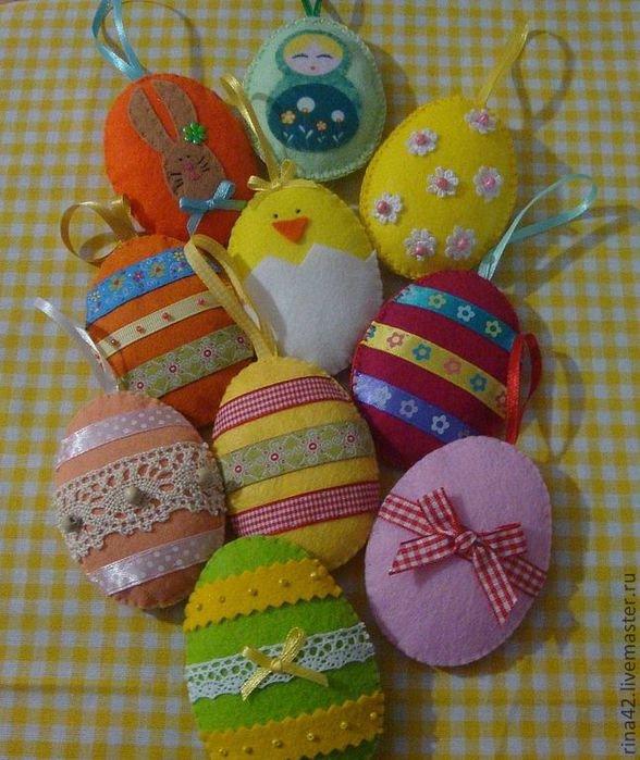 Яйца подарочные своими руками