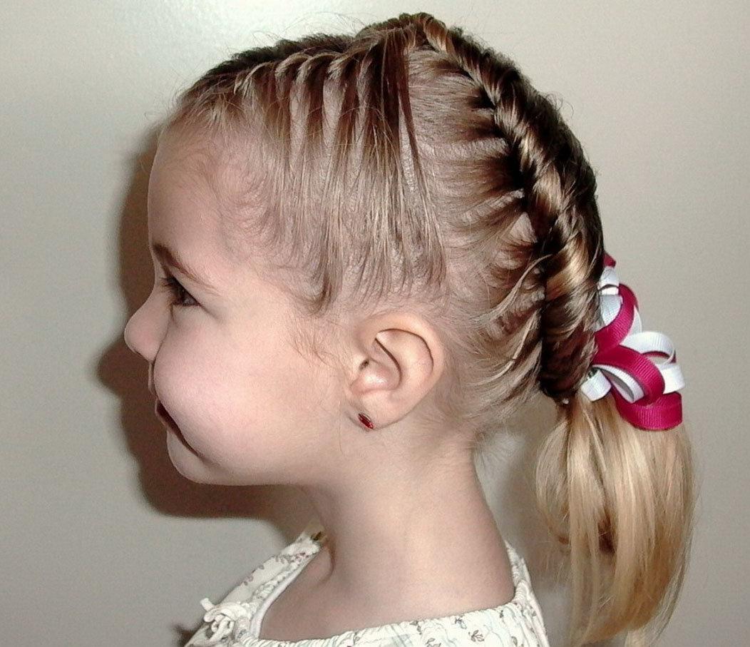 Детские модные причёски для девочек