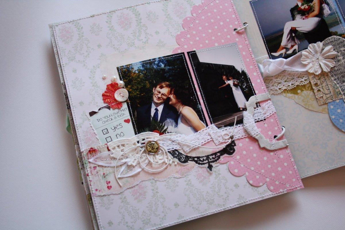 Как сделать альбом скрапбукинг на свадьбу