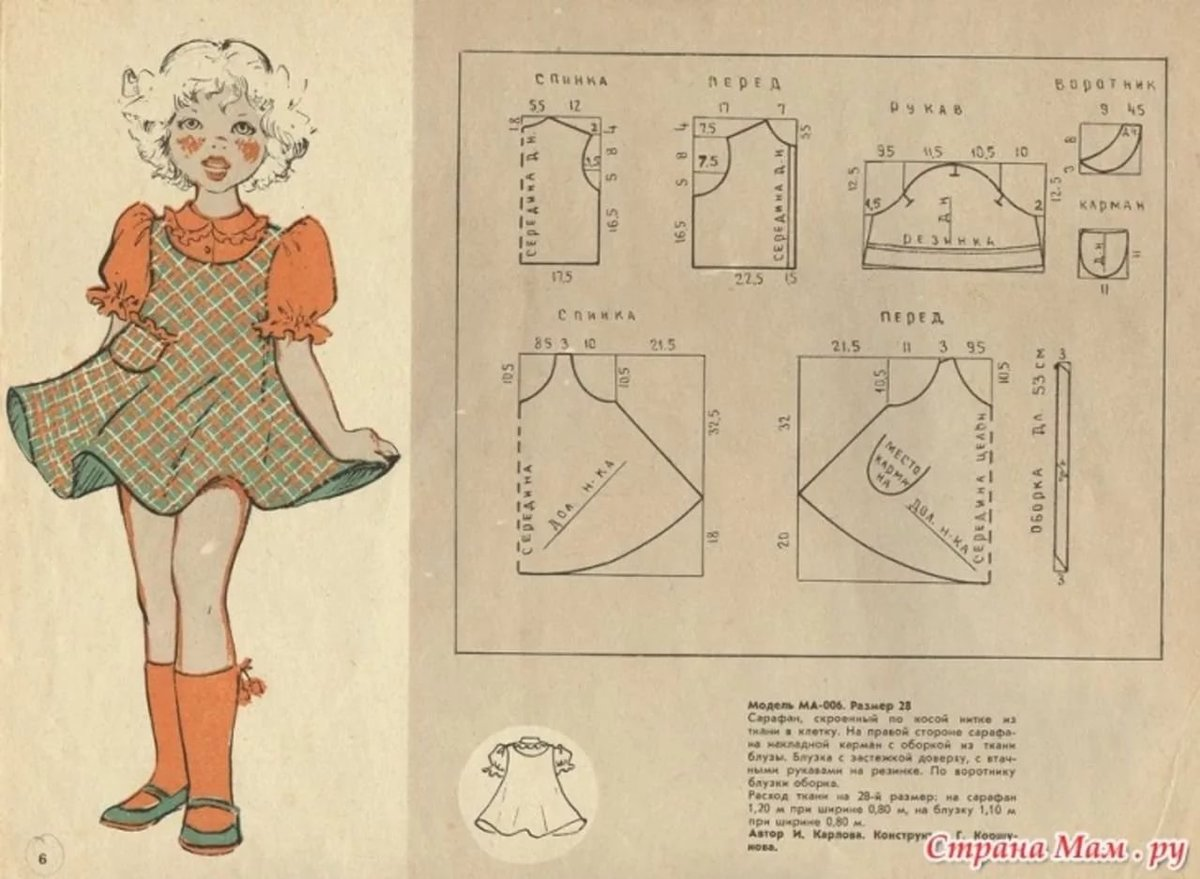 Сшить простое детское платье своими руками выкройки для начинающих