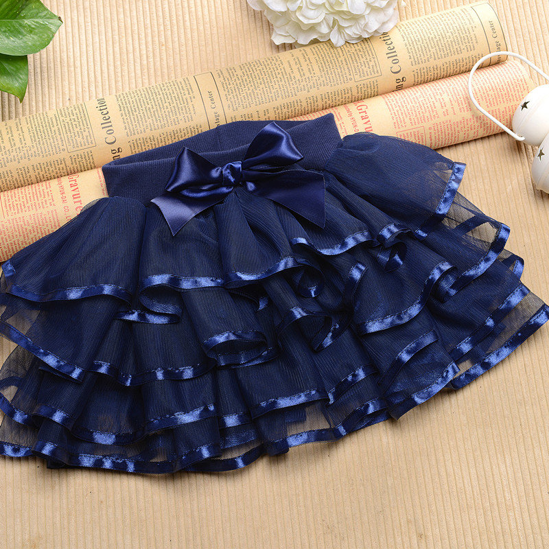 Как сшить юбку из органзы для девочки 1168