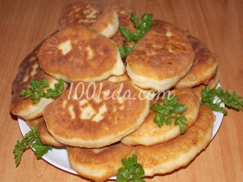 Рецепт теста на вкусные жареные пирожки