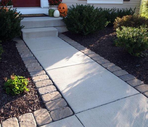 Дорожки для сада своими руками из бетона 565