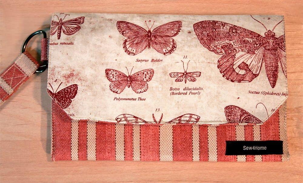 Бумажник из ткани своими руками 99