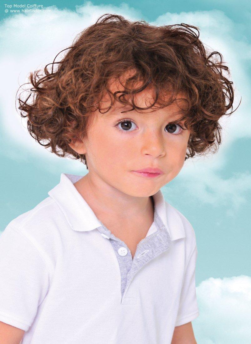 Детские прически на кудрявые волосы фото