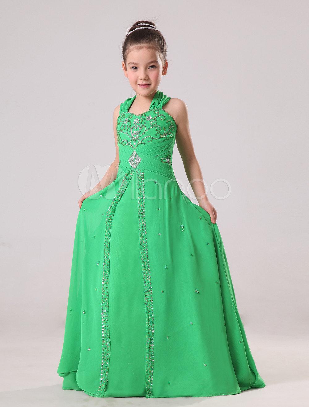 Длинное платье для девочек своими руками 83