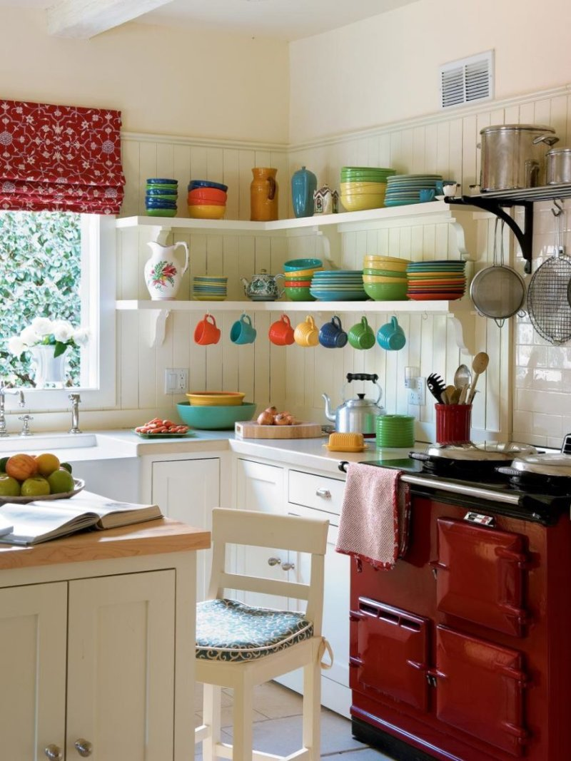 Фото дизайна маленькой кухни своими руками 37
