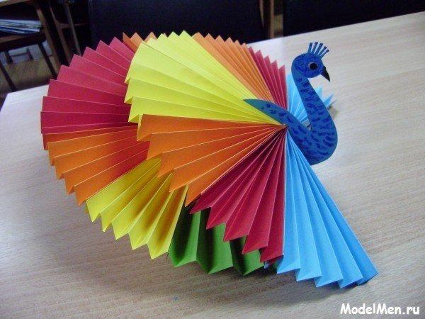 Поделки из бумаги своими руками из цветной бумаги