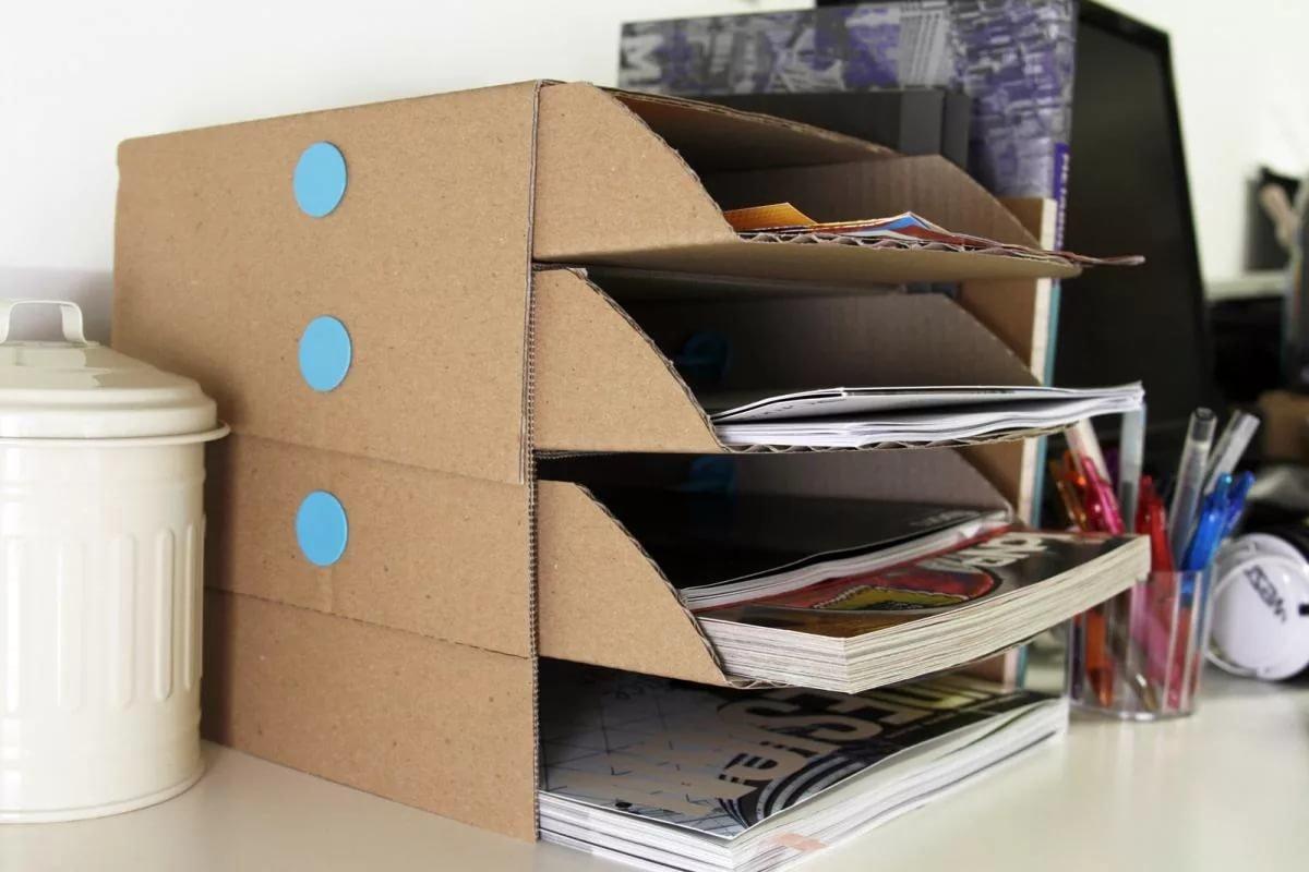 Идеи для хранения документов дома своими руками 22