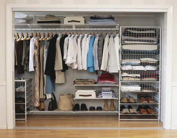 Из чего и как сделать гардеробную комнату своими руками