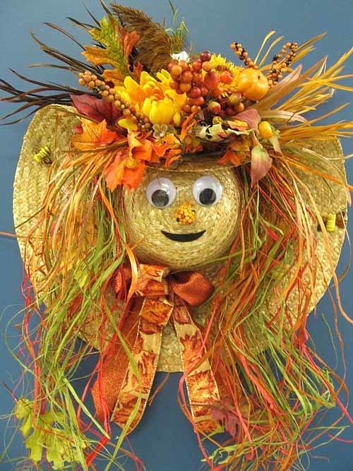 Осенняя шляпка поделка