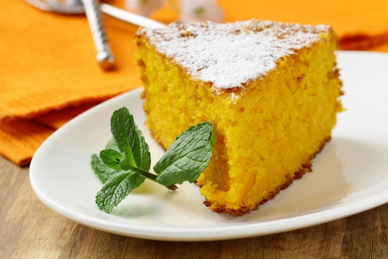 Морковный пирог низкокалорийный рецепт