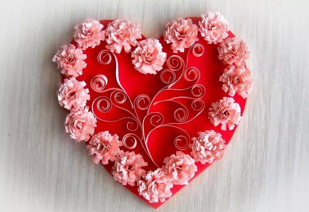 Рукоделие валентинки своими руками