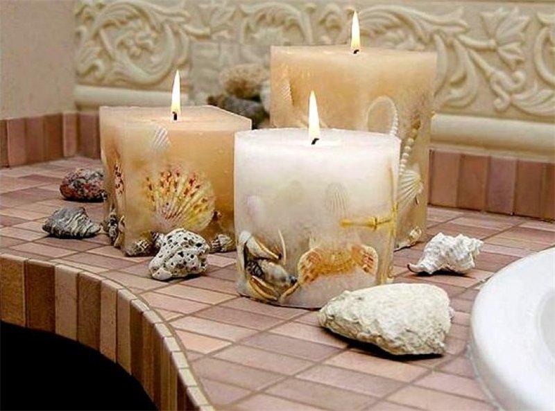 Основа свечей своими руками