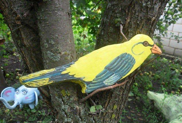 Птицы на даче своими руками