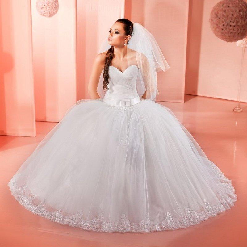 Свадебные платья и цена пышные