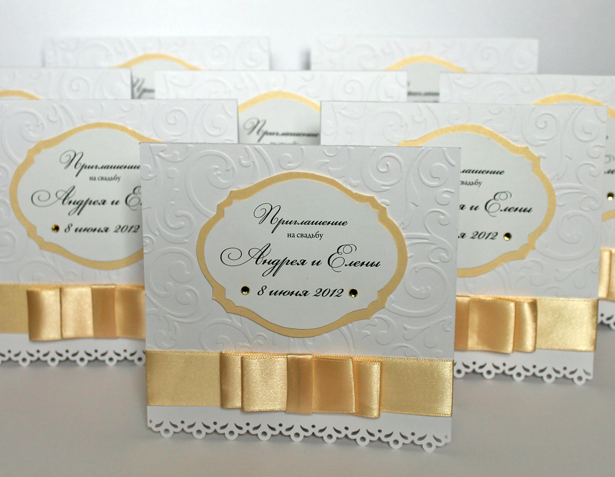 Оригинальные открытки приглашения на свадьбу 39