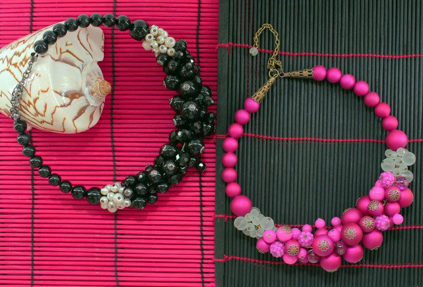 Ожерелье с бусинами своими руками фото 122