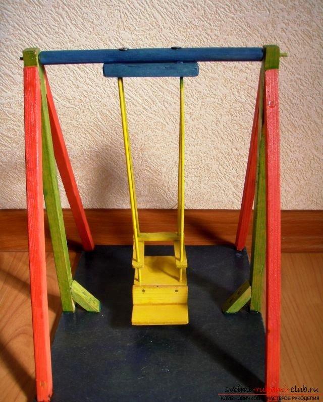 Мебель для кукол своими руками из подручных материалов 73