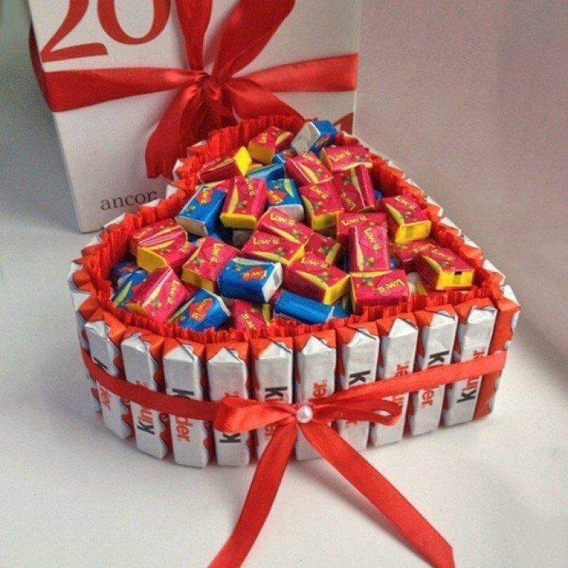Из шоколадок своими руками 120