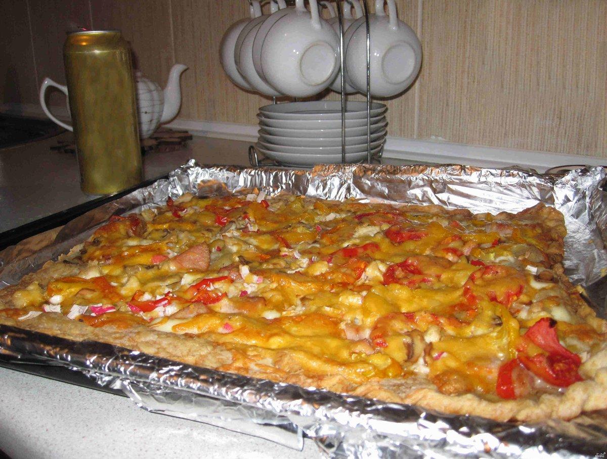 Приготовление пиццы из готового теста в домашних условиях
