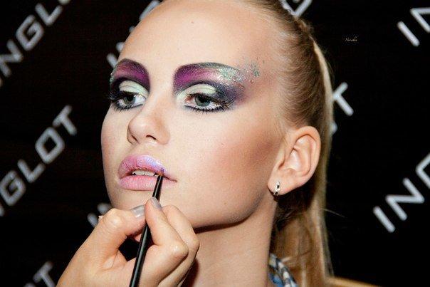 Фото макияж для конкурса красоты