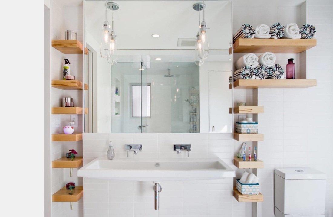 Как самостоятельно сделать шкаф в ванную