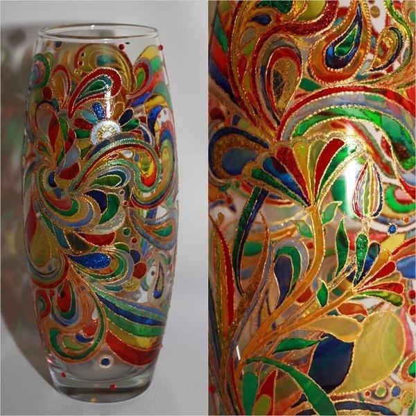 Роспись и декор ваз: 3 мастер-класса