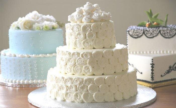 Как в домашних условиях сделать свадебный торт 114