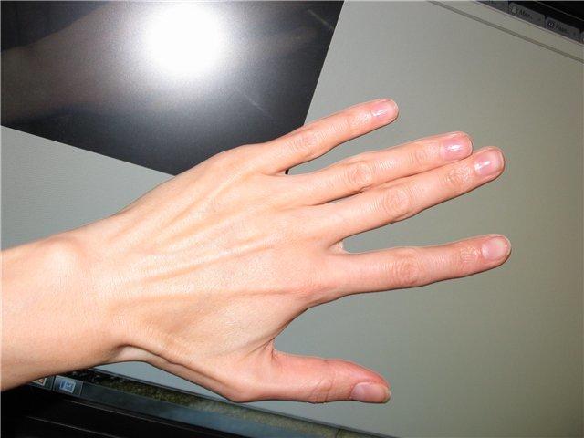 Как сделать длинный палец 540