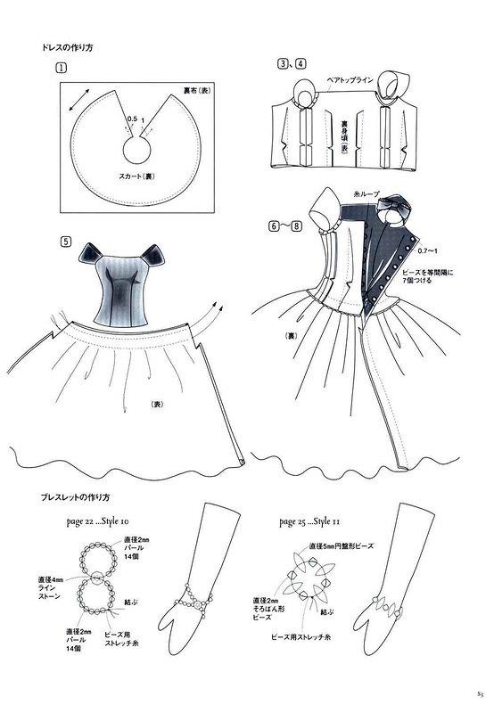 Сшить платье кукле своими руками без выкройки быстро 57