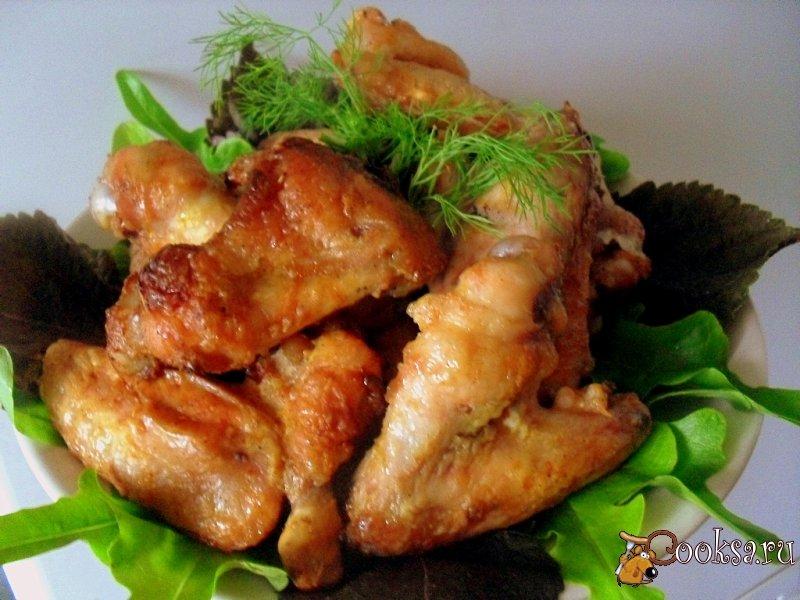 Рецепт острых куриные крылышки