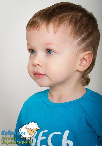Модные стрижки для самых маленьких мальчиков