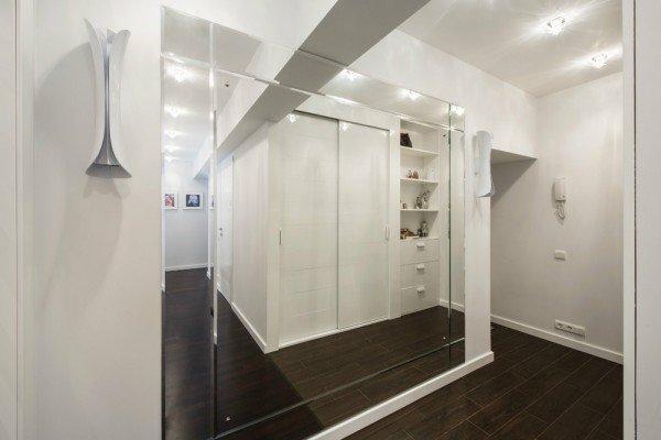 Дизайн больших зеркал