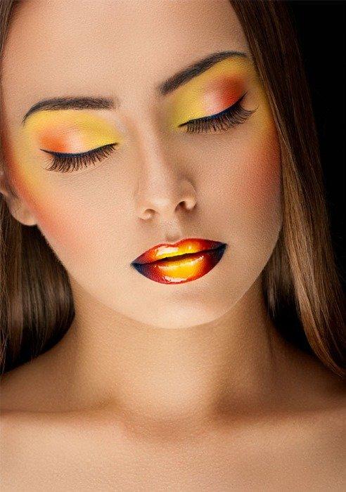 Фото макияж самых красивы