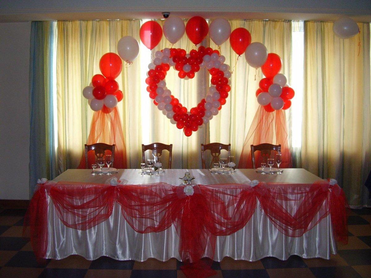 Украсить стол для свадьбы своими руками