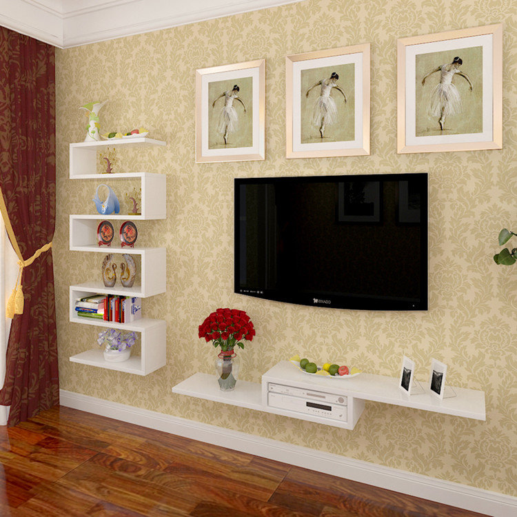 Как сделать полку для телевизора своими руками на стену