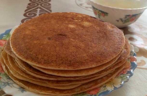 Рецепт блинов на кефире классический пошаговый с