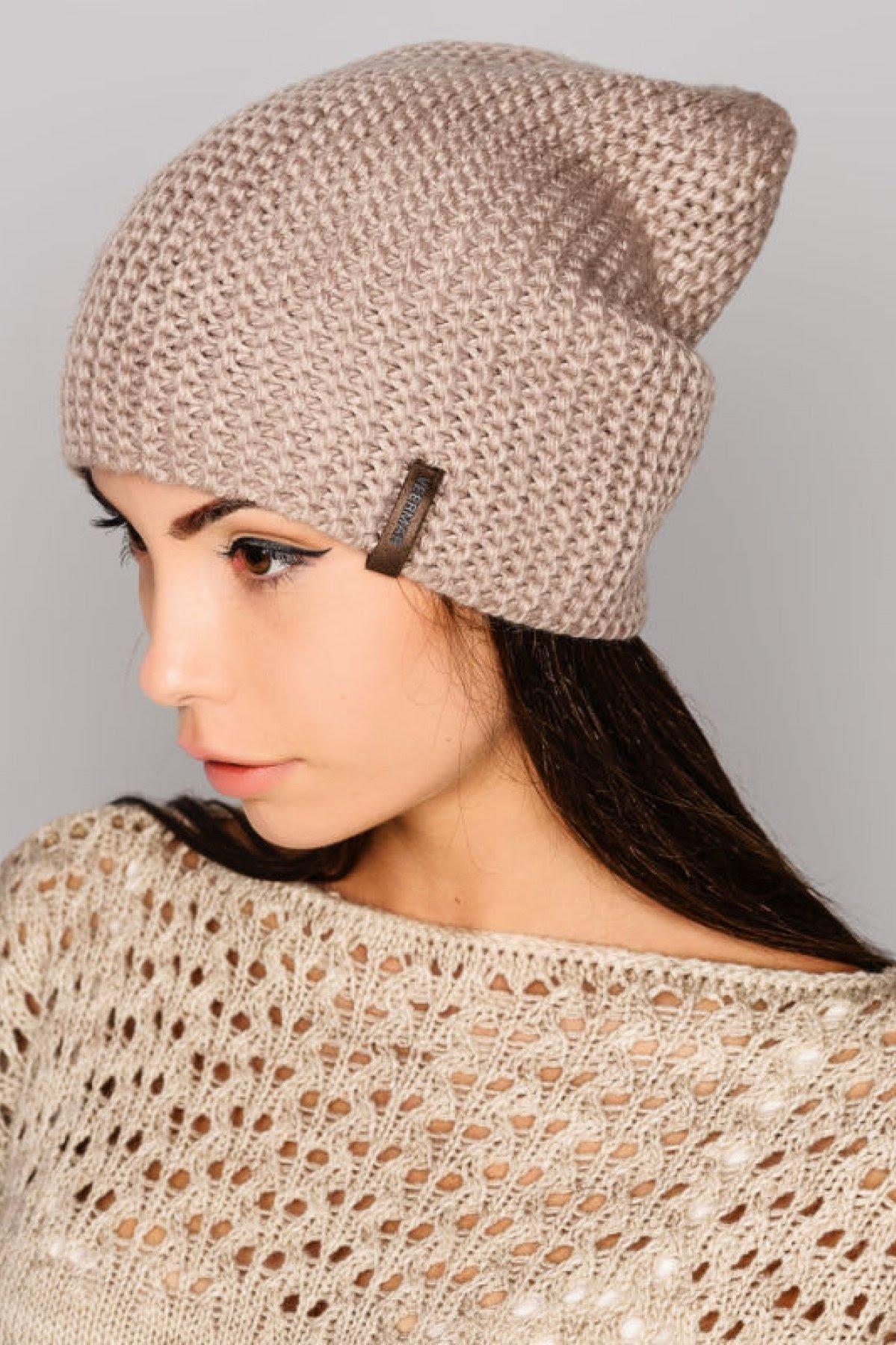 Вязание спицами шапки 2018 фото