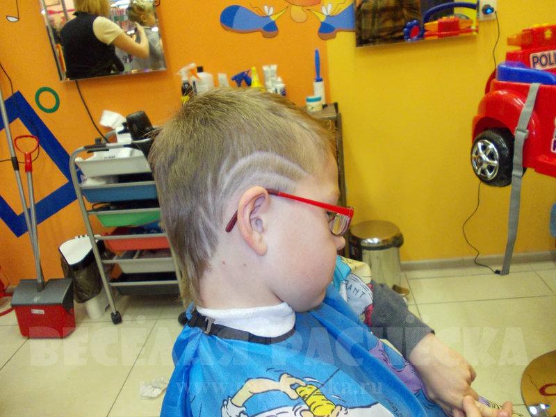 Как сделать стрижку мальчику